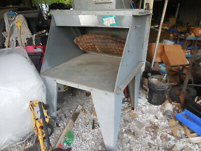 Updraft Paint Spray Booth 20 By 36 Opening 240-208-460 Three Phase Exhaust Motor
