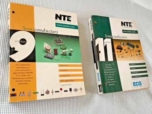 NTE Electronics Semiconductors 9th and 11th Edition