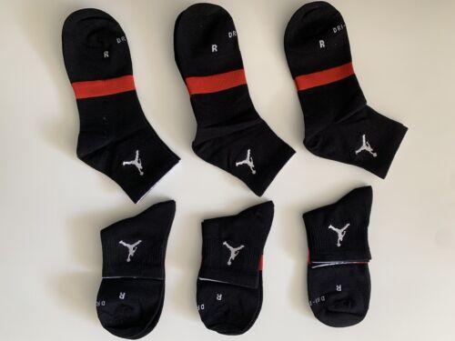Nike Jordan Men Socks DRI-FIT Air Max 6-PAIRS Jump Man - $9.50