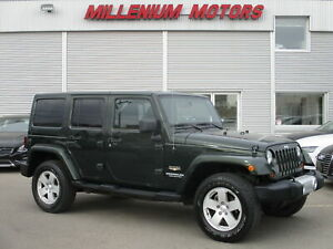 2011 Jeep WRANGLER UNLIMITED SAHARA 6-SPD 4WD 4DR
