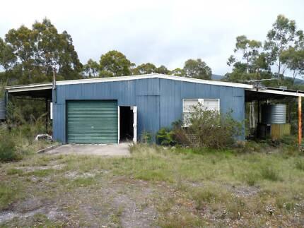 Garage for sale.