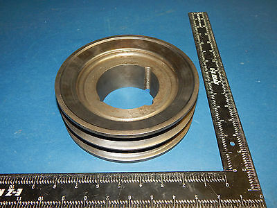 Double Groove 2-c 7.0 Pulley Sheave 7-387.375 Outer Diameter 2c70