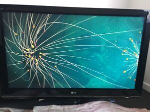 50 Inch HD TV - LG Brand with Remote