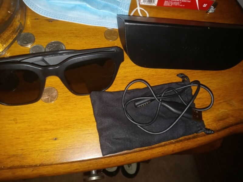 Bose 840667-0100 Frames Alto Audio Smart Sunglasses - Black
