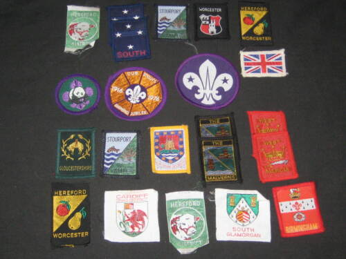 International Boy Scout Patches, Lot of 32           c4