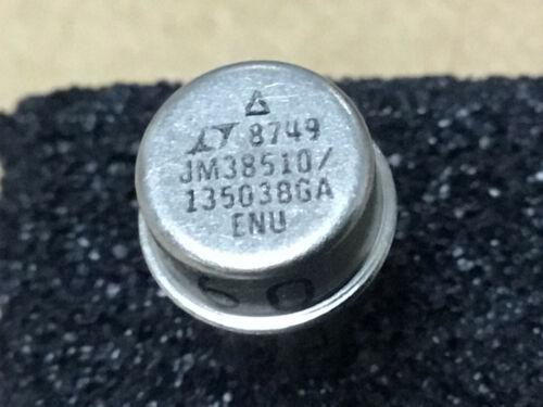 (1 PC)  LINEAR TECH  JM38510/13503BGA   OP Amp Single GP ±18V 8-Pin TO-99