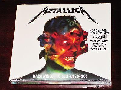 Metallica  Hardwired To Self Destruct 2 Cd Set 2016 Blackend Rec Usa Digipak New