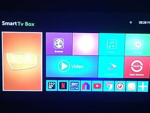Android tv box loaded