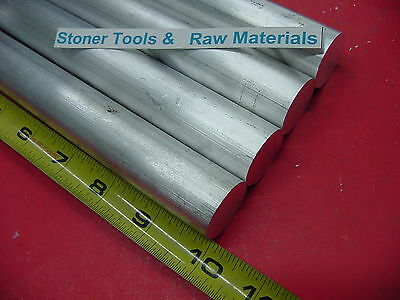 4 Pieces 1-12 Aluminum 6061 Round Rod Bar 10 Long Solid T6 1.50 Lathe Stock