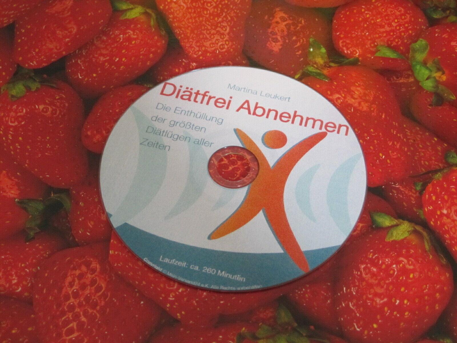 Diätfrei Abnehmen Ratgeber Dokumentation Hörbuch Motivation 5 Minuten Schlank CD