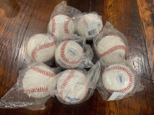 Rawlings Leather NFHS High School Baseball RNF 8 Balls