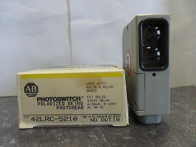 New Allen Bradley Photoswitch 42lrc-5210 Polarized Retro Photohead Series B Nib