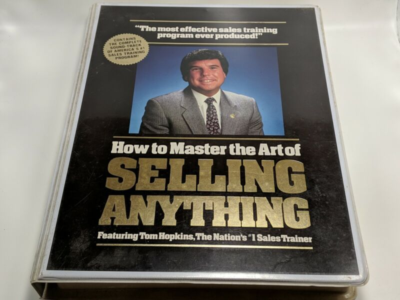 Tom Hopkins How To Master The Art Of Selling Anything 12 Cassettes