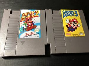 Mario Games for Nintendo NES , $60 for the pair