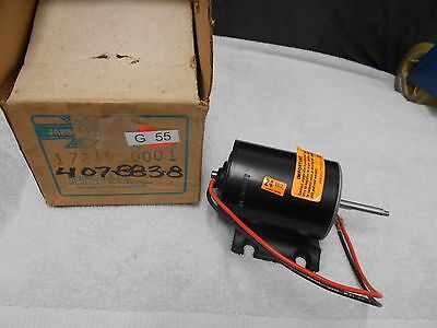 Used, NEW JABSCO  17246-0001  REPLACEMENT MOTOR 24 VOLT for sale  Fort Lauderdale