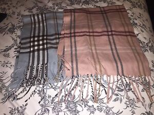 New made in France scarfs.