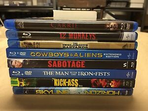Blu-ray - Lot of 8 Movies $5 each / $30 for Lot
