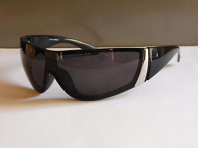 Top Moderne Unisex Herren Damen Sonnenbrille Sunglasses Schwarz UV400 (M96)