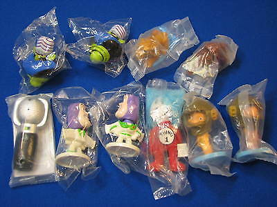 10 NEW Toy Story Kellogg Chicken Little Cat in the Hat LOT Thing Disney Ice Age