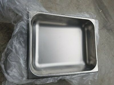 4 Half Size Stainless Steel 2 12 Deep Steam Prepbuffet Table  Food Pans