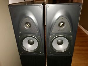 MIRAGE FRX-Five FRX-5 B1 Canadian Hi-fi Tower Speakers