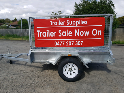 Trailer sale galvanised trailers best rates