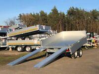 ⭐Anhänger Eduard e-Kipper 2000kg 256x150x30cm Handpumpe Rampen 63 Brandenburg - Schöneiche bei Berlin Vorschau