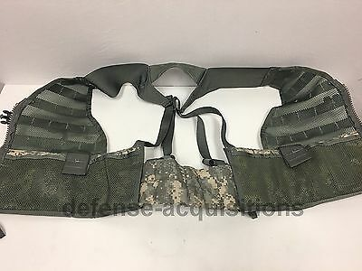 NEW US Military ACU FLC Fighting Load Carrier Tactical Vest Digital