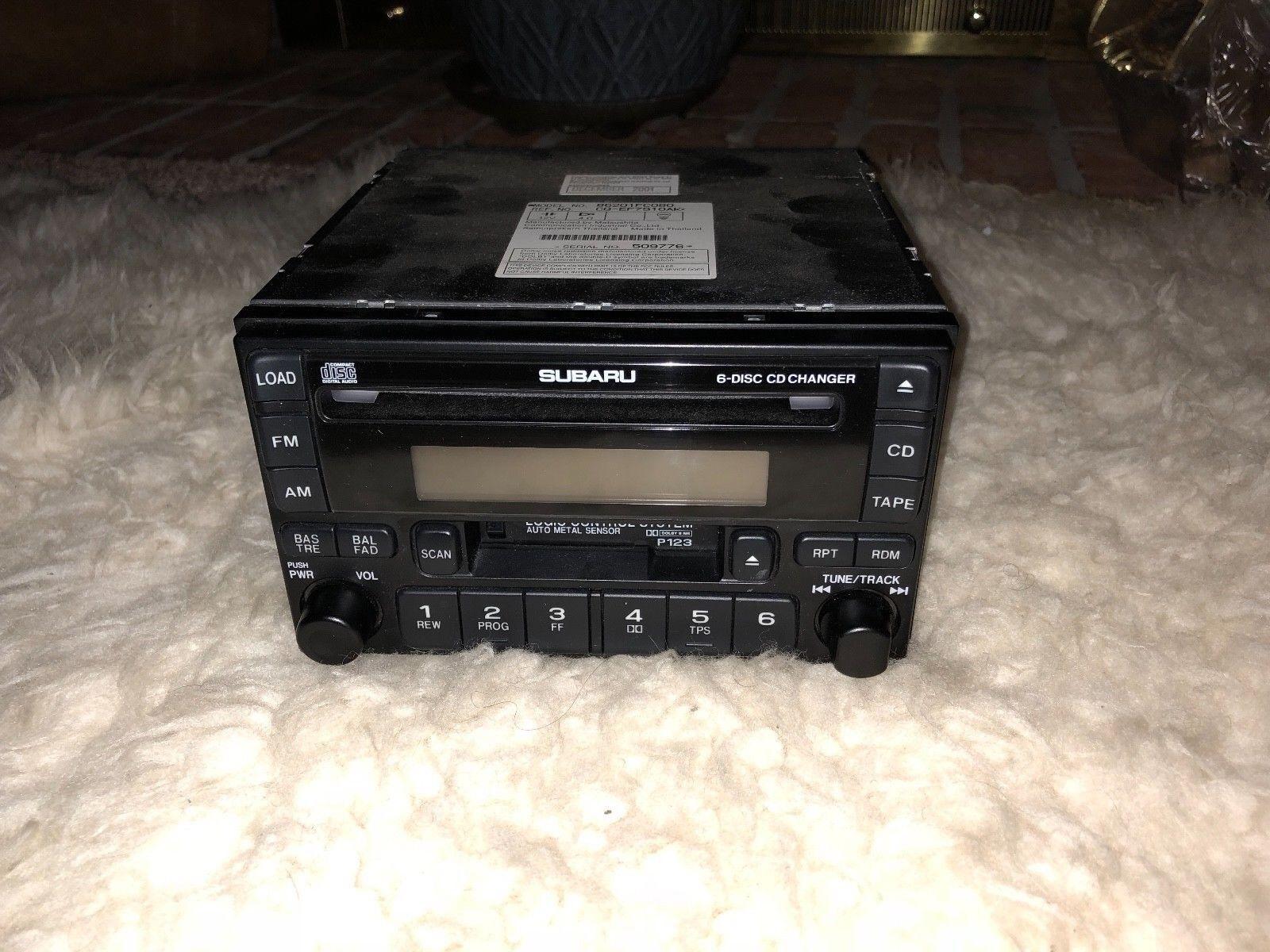 2002 impreza stereo 6 cd changer