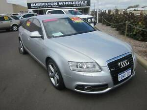 2010 Audi A6 Quattro 3.0i AWD S-Line Sedan Geographe Busselton Area Preview