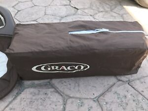 EUC GRACO playpen with change table attachment.