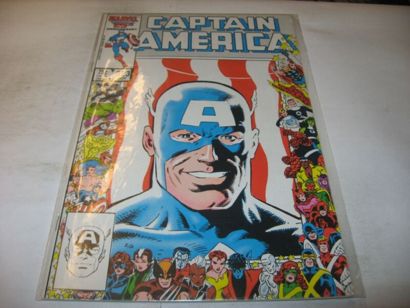 CAPTAIN AMERICA #323 1st App JOHN WALKER SUPER PATRIOT DIRECT EDITION nice RAW 1