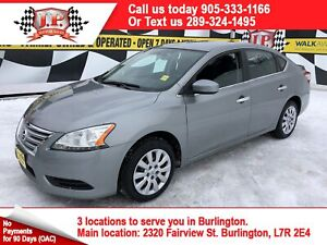 2013 Nissan Sentra S, Automatic, Bluetooth