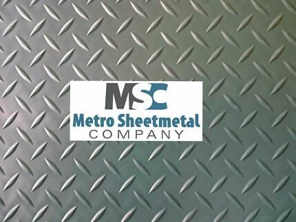 Checker Plate,Flat Sheetmetal,Off-cuts,OPEN 2/01/2018