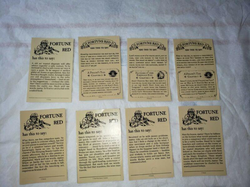 Disneyland Pirates of Caribbean Fortune Red Souvenir Cards original and App