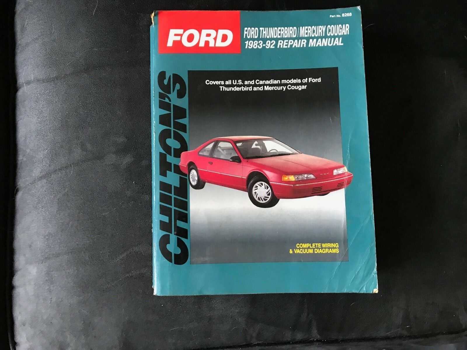 Used 1992 Mercury Cougar Headlights For Sale 92 Wiring Diagram 1983 Ford Thunderbird Automotive Repair Manual Chiltons