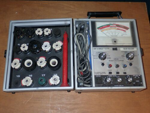 Sencore Super Mack CRT Tester and Beam Builder CR31A Untested