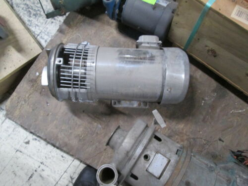 Waukesha C-Series Pump w/ Gator Stainless Steel Motor C-218 5HP 1765RPM Used