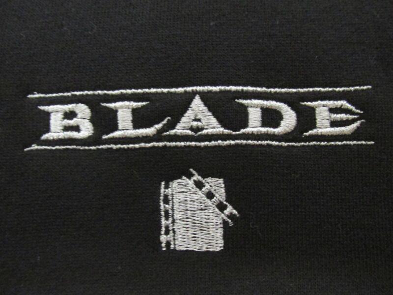 BLADE 1998 MARVEL VINTAGE FILM CREW MOVIE PROMO NEW HOODIE RARE WESLEY SNIPES