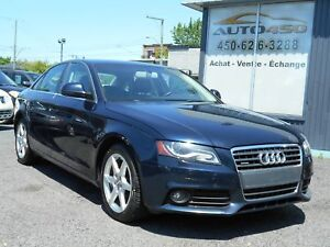 Audi A4 2009 ***MAGS,TOIT OUVRANT,4X4***