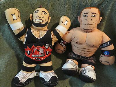 2 WWE Brawlin Buddies John Cena &FUNKASAURUS Wrestling Talking BUDDIES