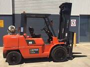 Nissan 4.5T LPG Used Forklift with Side Shift Fork Positioner Laverton North Wyndham Area Preview