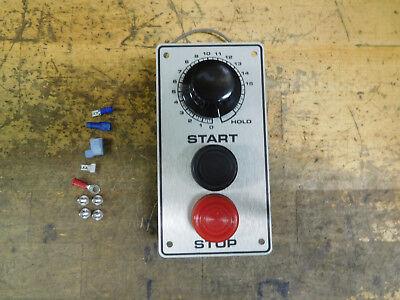 Hobart Mixer Start Stop Timer 220 Volt Kit H-600 60qt L-800 80qt W Covers