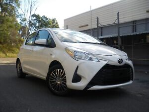 2017 TOYOTA YARIS 24000 K, AUTOMATIC, 6 MONTH REGO RWC WARRANTY Hillcrest Logan Area Preview