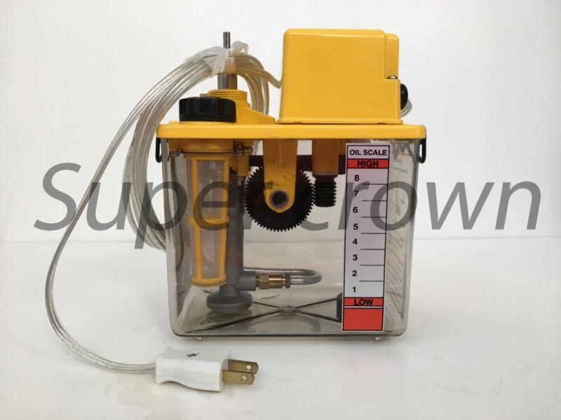 CHIBA CNC SMA-601-30F 110V 2L FLOAT-SWITCH PRESSURE RELIEF LUBRICATION PUMP CE