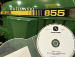 John Deere 855 and 955 compact tractor technical s picture