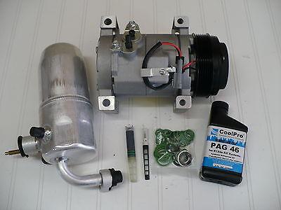 2003-2007 GMC Sierra 1500 (4.3L) New A/C AC Compressor Kit