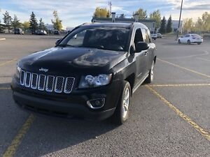 2015 Jeep Compass Loaded black leather
