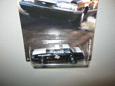 D = Matchbox = 1993 Mustang LX SSP = '93 Ford = Texas State Trooper Police Car