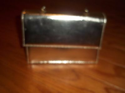 Vintage  Gold Evening Bag Shaped Purse--Best & Co.N.Y.-made in USA